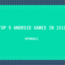Top 5 Android Games From October 2018!